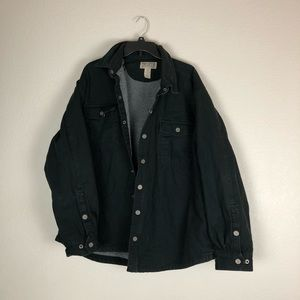 Duluth Trading Co Jacket Mens XL Black